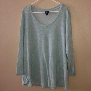 EUC Bobeau super soft 1x tunic/long sleeve
